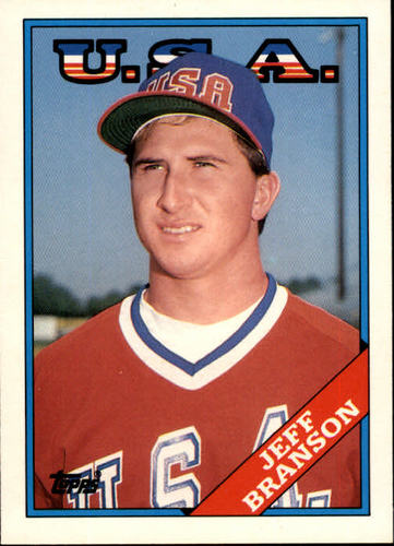 Photo of 1988 Topps Traded #19T Jeff Branson XRC OLY