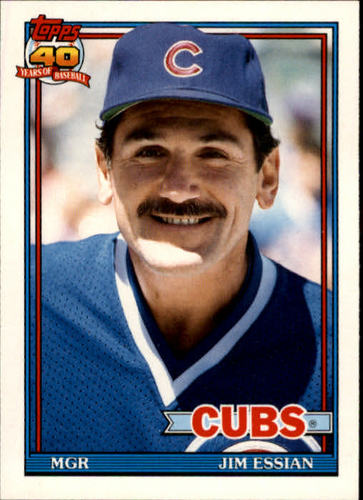 Photo of 1991 Topps Traded #36T Jim Essian MG