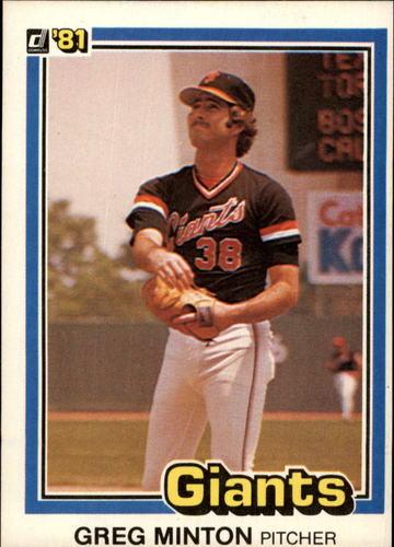 Photo of 1981 Donruss #579 Greg Minton