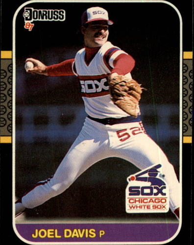 Photo of 1987 Donruss #124 Joel Davis