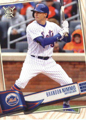 Photo of 2019 Topps Big League #89 Brandon Nimmo