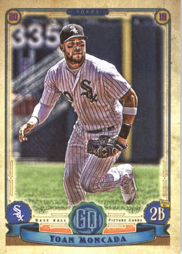 Photo of 2019 Topps Gypsy Queen #196 Yoan Moncada