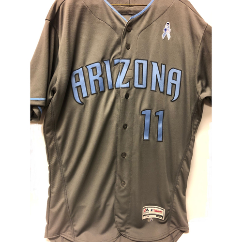 Photo of A.J. Pollock Team-Issued Father's Day Jersey