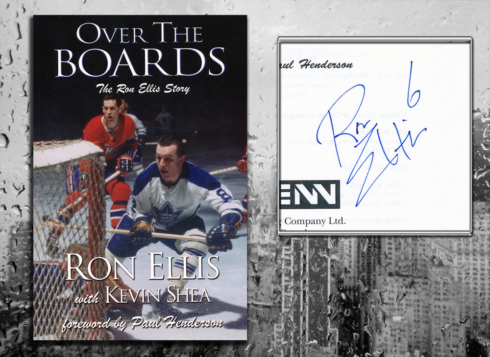 Ron Ellis OVER THE BOARDS Signed Softcover Book