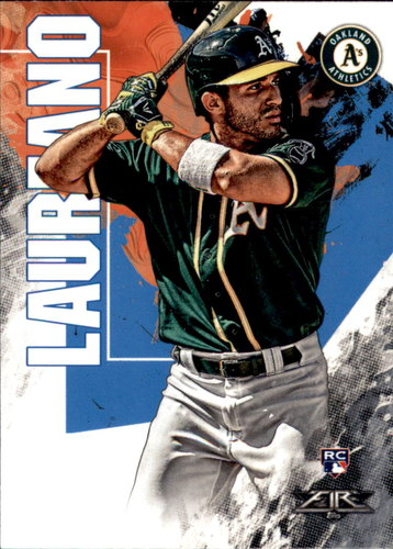 Photo of 2019 Topps Fire #55 Ramon Laureano RC