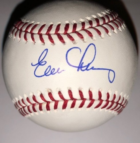 Photo of Evan Longoria Autographed Baseball