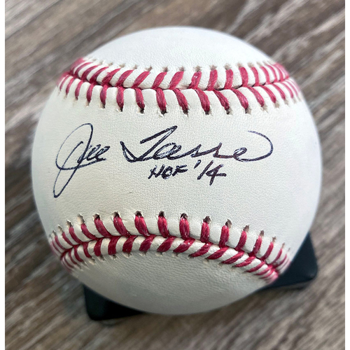 Photo of UMPS CARE AUCTION: Joe Torre Signed Baseball