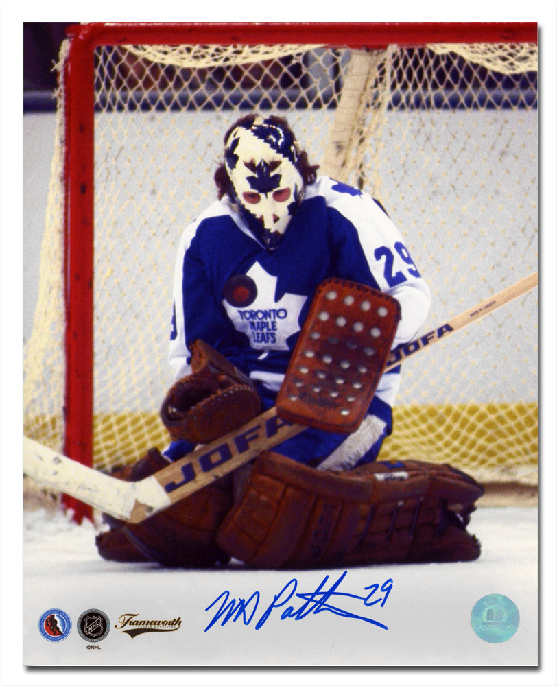 Mike Palmateer Toronto Maple Leafs Autographed 8x10 Butterfly Save Photo