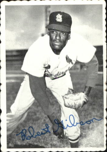 Photo of 1969 Topps Deckle Edge #29 Bob Gibson