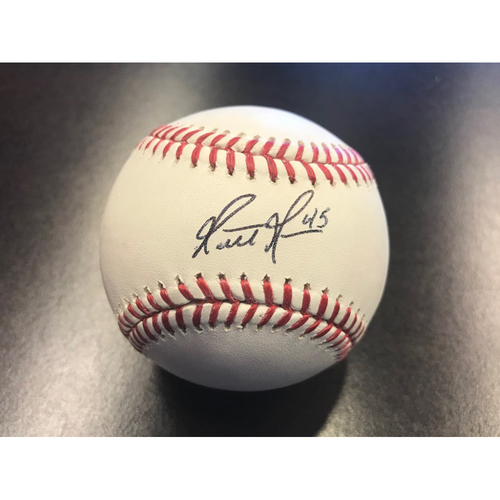 Giants Community Fund: Matt Moore Autographed Baseball