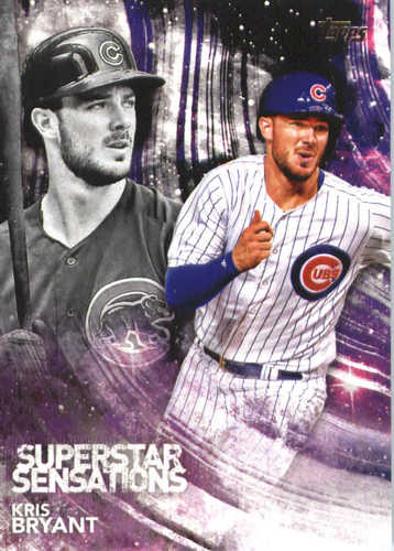 Photo of 2018 Topps Superstar Sensations #SSS42 Kris Bryant