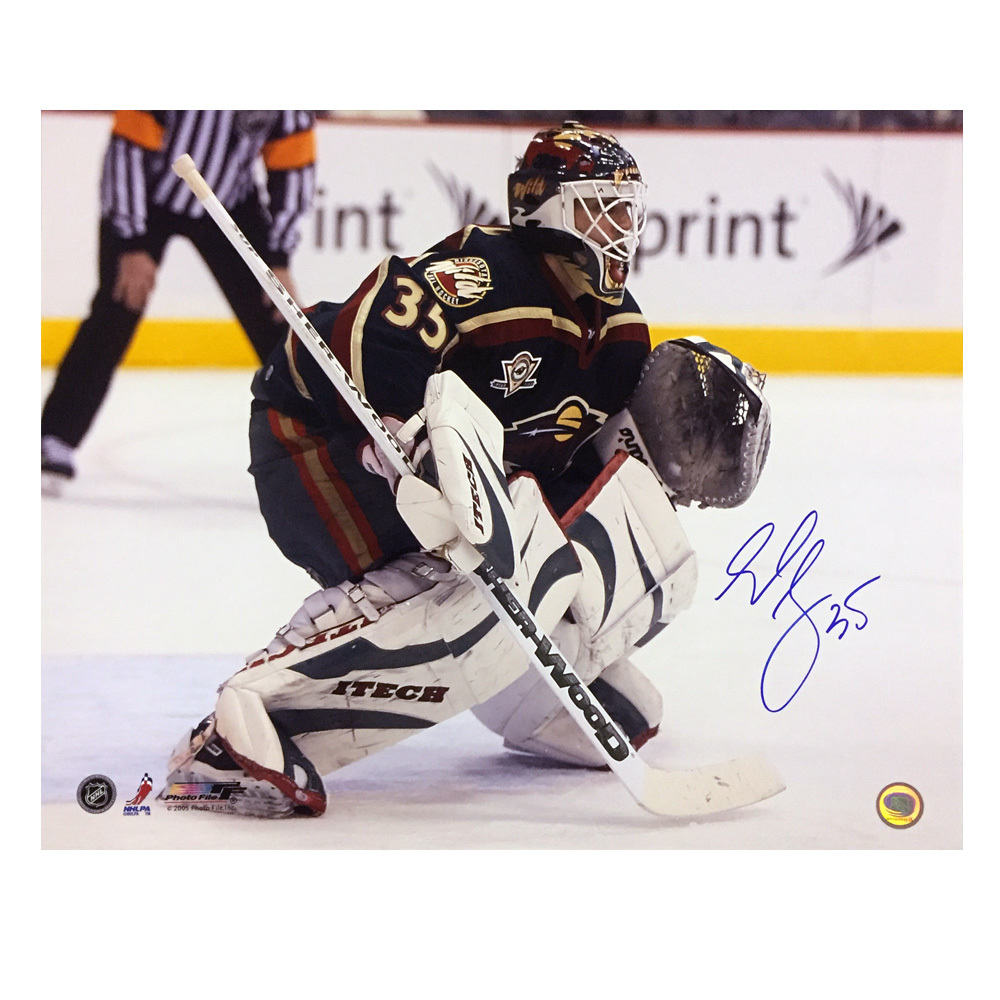 MANNY FERNANDEZ Signed Minnesota Wild 16 X 20 Photo - 79074
