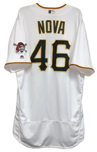 Photo of Ivan Nova 2018 Game-Used Jersey - 5.1 IP, 5 H, 5 ER, 3 SO