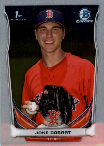 Photo of 2014 Bowman Chrome Draft #CDP101 Jake Cosart