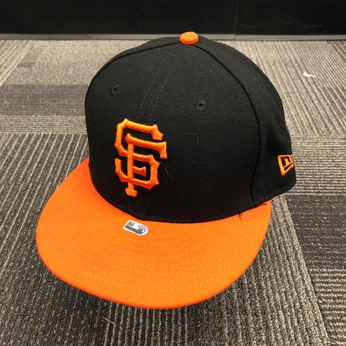 Photo of 2018 Team Issued Orange Bill Cap - #22 Andrew McCutchen - Size 7 3/8