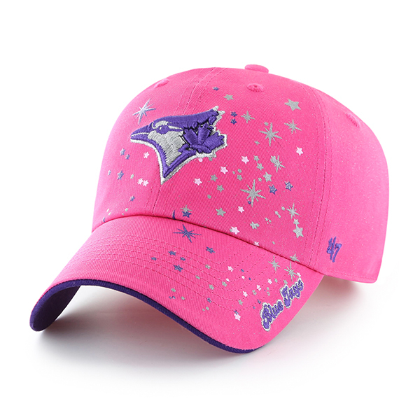 Toronto Blue Jays Toddler Stardust Pink Cap by '47 Brand