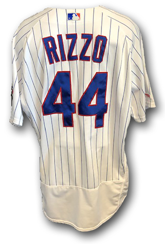 Photo of 12 Days of Auctions: Day 10 -- Anthony Rizzo Game-Used Jersey -- A's vs. Cubs -- 8/7/19 -- Size 50
