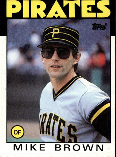 Photo of 1986 Topps #114 Mike C. Brown
