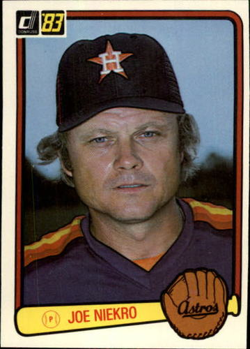 Photo of 1983 Donruss #470 Joe Niekro