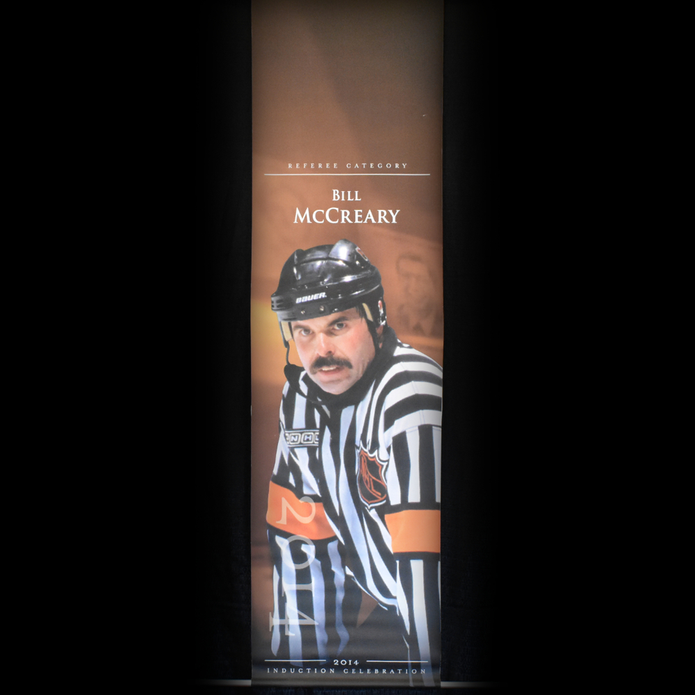 Bill McCreary Book Signing Stage Banner - 2014 Induction Weekend - Limited Edition 1/1