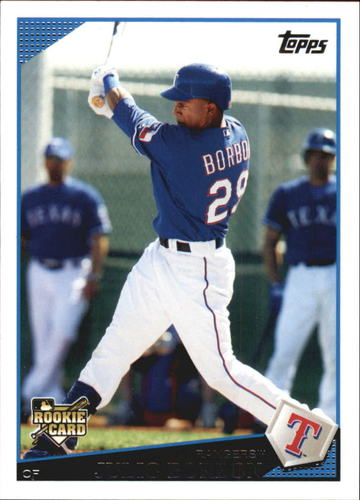Photo of 2009 Topps Update #UH167 Julio Borbon RC