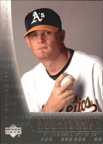 Photo of 2003 UD Authentics #106 Shane Bazzell RH RC