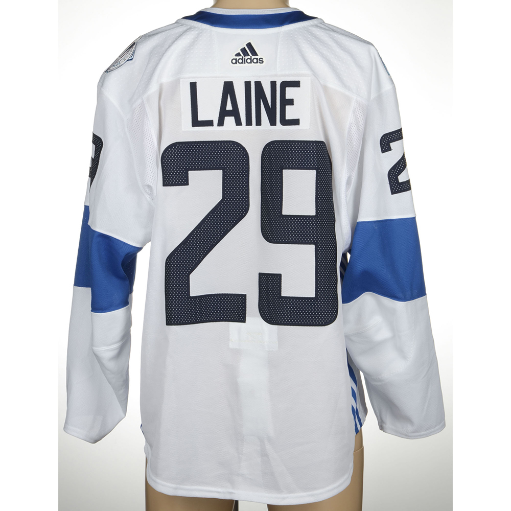 low priced 9bc9b c230c Patrik Laine Winnipeg Jets Game-Worn World Cup of Hockey ...