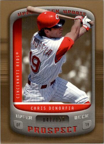 Photo of 2005 Upper Deck Update Gold #173 Chris Denorfia PR