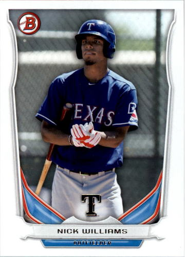 Photo of 2014 Bowman Draft Top Prospects #TP70 Nick Williams