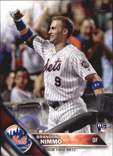 Photo of 2016 Topps Update #US74 Brandon Nimmo Rookie Card