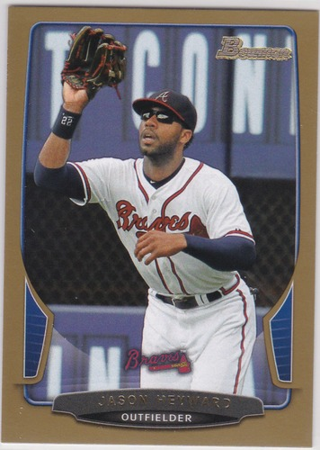 Photo of 2013 Bowman Gold #94 Jason Heyward
