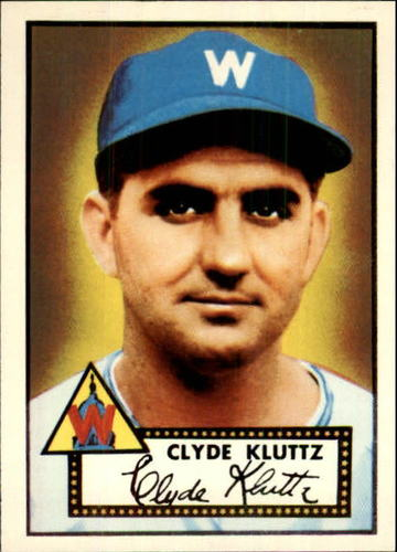 Photo of 1983 Topps 1952 Reprint #132 Clyde Kluttz