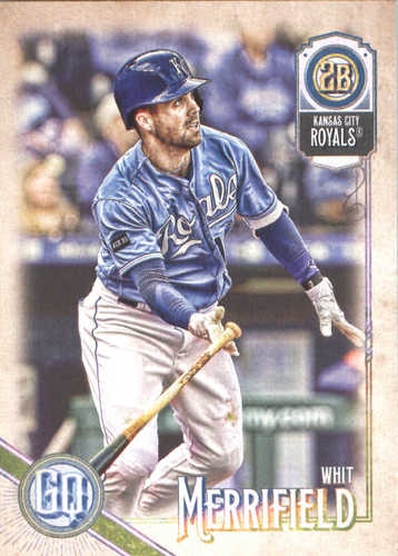 Photo of 2018 Topps Gypsy Queen #227 Whit Merrifield