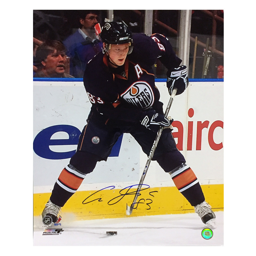ALES HEMSKY Signed Edmonton Oilers 16 X 20 Photo - 79075