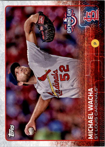 Photo of 2015 Topps Opening Day #65 Michael Wacha