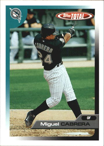 Photo of 2005 Topps Total Team Checklists #11 Miguel Cabrera