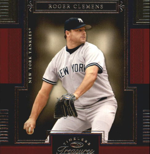 Photo of 2005 Timeless Treasures #22 Roger Clemens Yanks