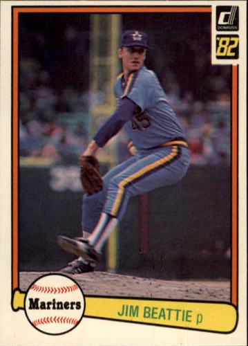 Photo of 1982 Donruss #478 Jim Beattie