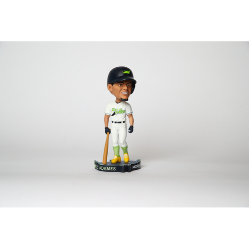 Photo of Rays Baseball Foundation: Willy Adames Autographed Devil Rays Bobblehead