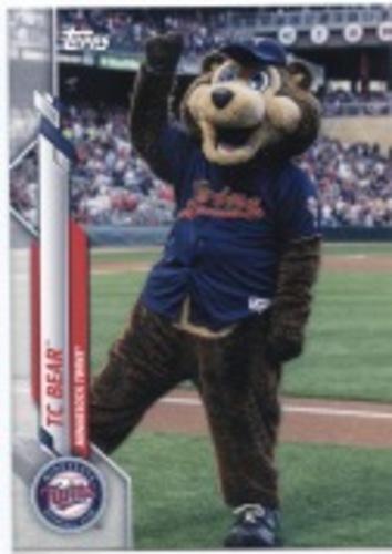Photo of 2020 Topps Opening Day Mascots #M17 TC Bear