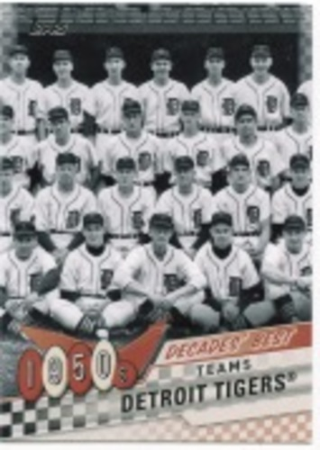 Photo of 2020 Topps Decades' Best Series 2 #DB1 Detroit Tigers