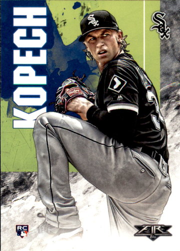 Photo of 2019 Topps Fire #58 Michael Kopech RC