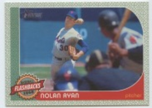 Photo of 2017 Topps Heritage Baseball Flashbacks #BFNR Nolan Ryan