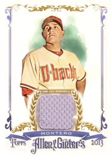 Photo of 2013 Topps Allen and Ginter Relics #MM Miguel Montero