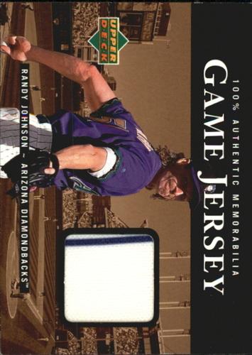 Photo of 2000 Upper Deck Game Jersey #RJ Randy Johnson HR2