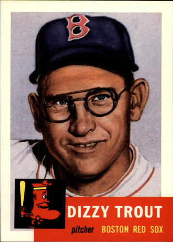 Photo of 1991 Topps Archives 1953 #169 Dizzy Trout