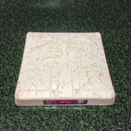 Photo of Game-Used 05/13/17 2nd Base - NYM@MIL