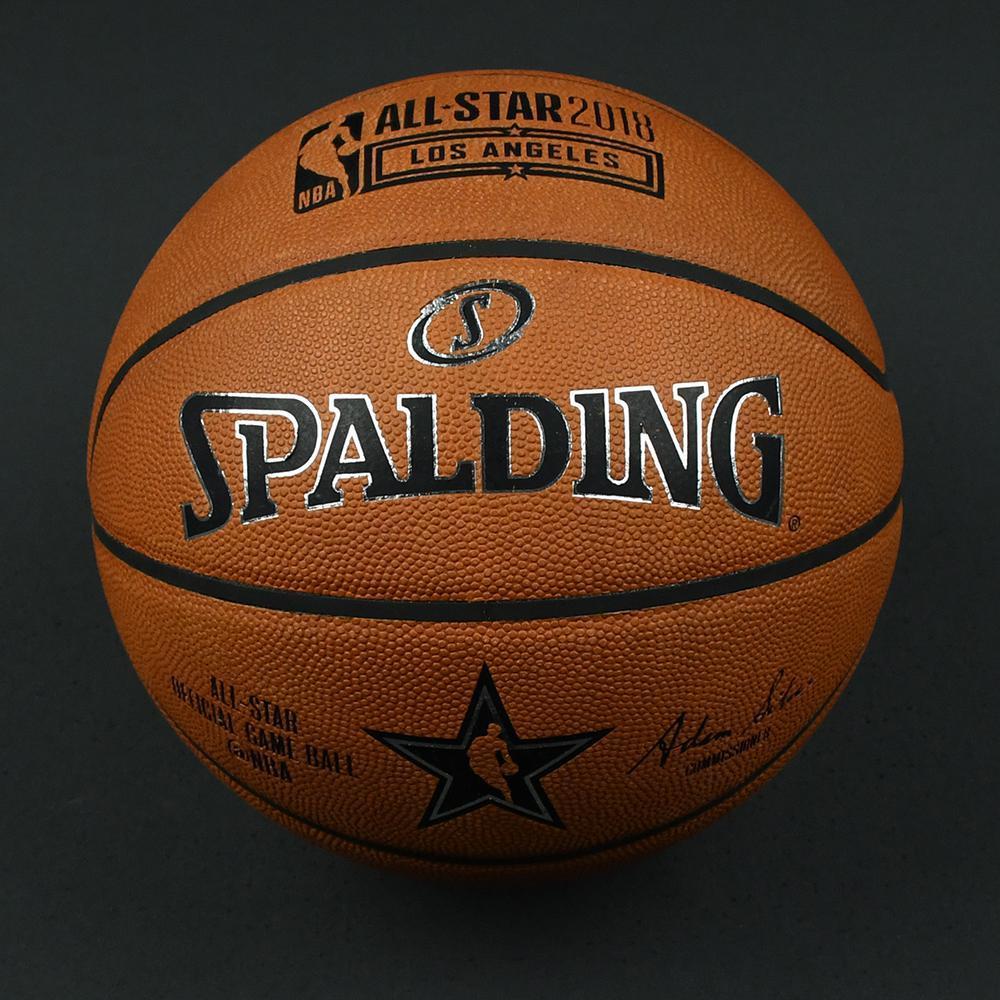NBA All-Star 2018 Mtn Dew Kickstart Rising Stars - Game-Used Basketball (4th Quarter)