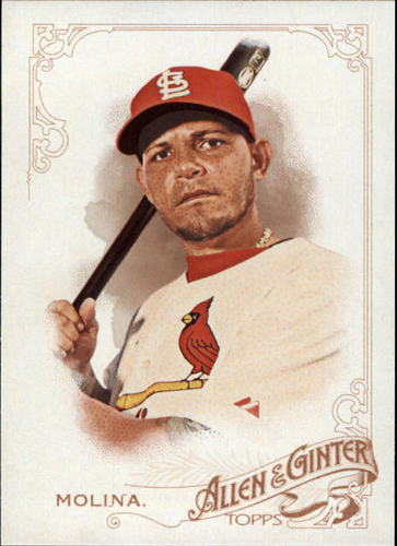 Photo of 2015 Topps Allen and Ginter #17 Yadier Molina