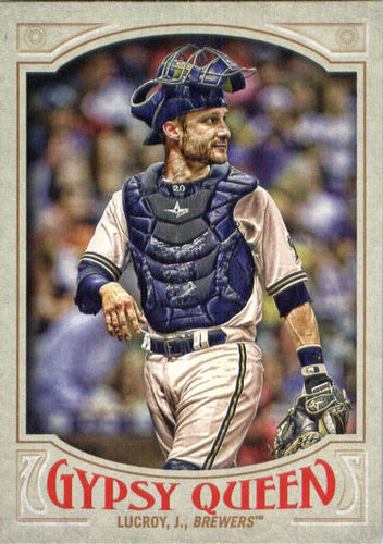 Photo of 2016 Topps Gypsy Queen #179 Jonathan Lucroy